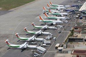 Données sur les mouvements des aéronefs à l'aéroport Félix Houphouët-Boigny de 2005 à 2008